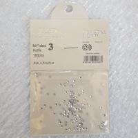 Стразы Crystal Lized SS3 (100 шт) - серебро