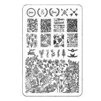 Трафарет для стемпинга (пластиковый) XY-K25