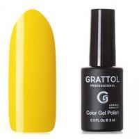 Grattol, Гель-лак Classic Collection №034, Yellow, 9мл