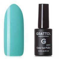 Grattol, Гель-лак Classic Collection №061, Light Turquoise, 9мл