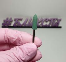 Полировщик силиконовый 5х16мм (зеленый, 240 грит)