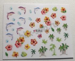 Наклейка-дизайн E252