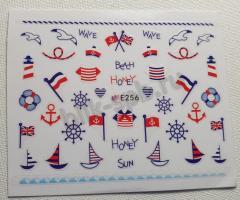 Наклейка-дизайн E256