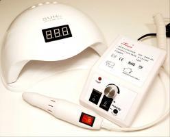 Комплект оборудования (Лампа Sun 5 + Аппарат для маникюра LINA MERCEDES 2000)