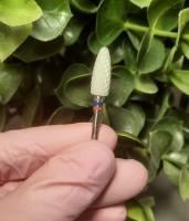 Фреза керамическая Кукуруза двойная насечка (красная + синяя)