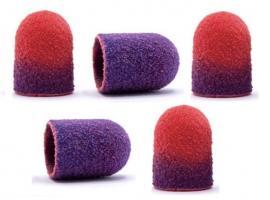 Колпачки для педикюра (термо) 10*15 мм, 100 грит (5 шт.)
