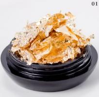Поталь (мягкая фольга), золото (10g)