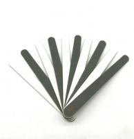 Пилка mini 180/240 прямая 11,5 см (на деревянной основе)