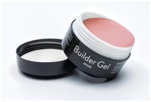 ELPAZA, Builder Gel Peach, Гель однофазный UV/LED для наращивания и моделирования ногтей (15 гр)