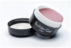 ELPAZA, Builder Gel Caramel, Гель однофазный UV/LED для наращивания и моделирования ногтей (15 гр)