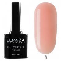 ELPAZA, Builder Gel it's easy №8, Гель двухфазный для моделирования (15 мл)