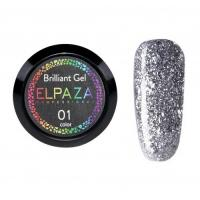 ELPAZA, Гель-лак Brilliant Gel № 01 (5 мл)