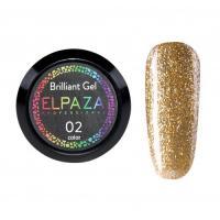 ELPAZA, Гель-лак Brilliant Gel № 02 (5 мл)