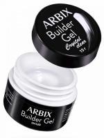 Arbix, Гель моделирующий Builder Gel Crystal Clear, прозрачный (15 мл)