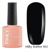 PINKY, Камуфлирующая база Milky Rubber Base № 02 (10 мл)