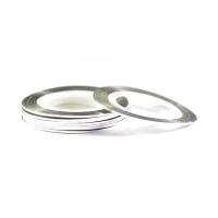 Нить на клеевой основе (серебро) для дизайна