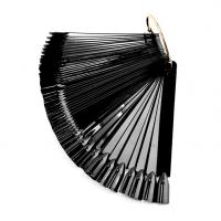 Палитра веер 50 шт. черная