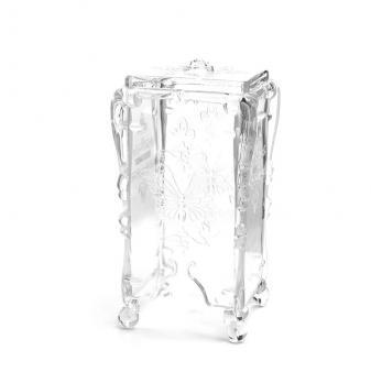 Пластиковый контейнер для безворсовых салфеток (прозрачный)