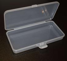 Пластиковый контейнер для хранения прямоугольный (прозрачный)