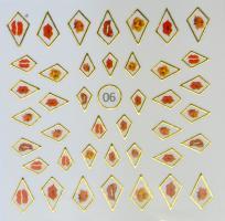 Стикер для ногтей жидкий камень 06