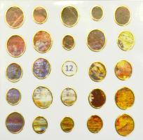 Стикер для ногтей жидкий камень 12