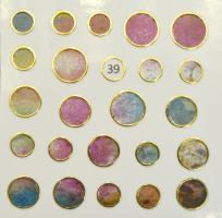 Стикер для ногтей жидкий камень 39