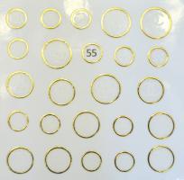Стикер для ногтей жидкий камень 55
